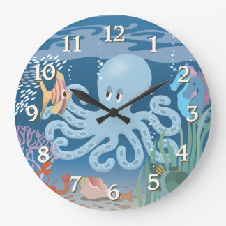 The Octopus Wall Clock
