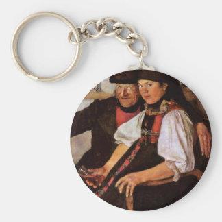The Odd Couple By Leibl Wilhelm (Best Quality) Keychains