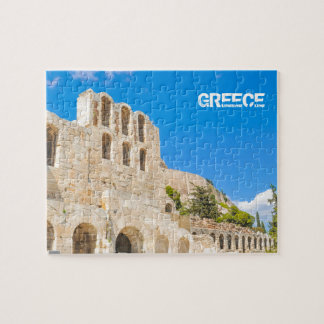 The Odeon of Herodes Atticus in Athens, Greece Jigsaw Puzzle