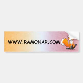 The Offical www.Ramonar.com Bumper Sticker