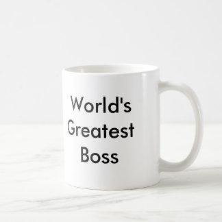The Office (greatest boss) Basic White Mug