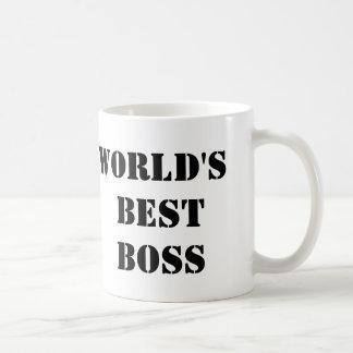 The Office World's Best Boss Basic White Mug