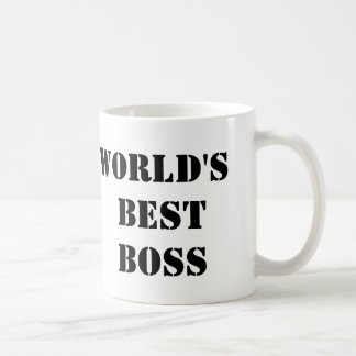 The Office World's Best Boss Classic White Coffee Mug