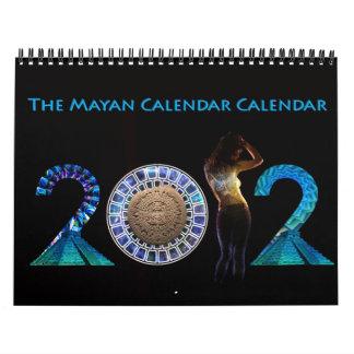 The Official 2012 Mayan Calendar Calendar