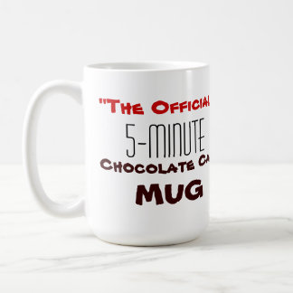 "The ""Official"" 5-Minute Chocolate Cake Mug"