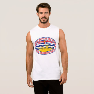 THE OFFICIAL BRITISH COLUMBIAN BEER DRINKING SHIRT