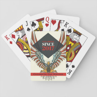 The Official Conserve Our Nation Playing Cards