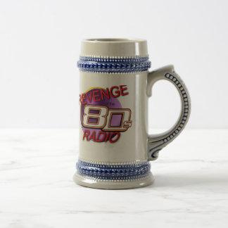 The official Revenge of the 80s Radio stein Mugs