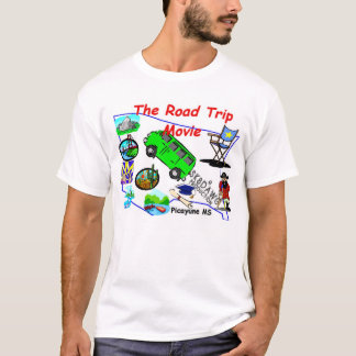 The Official Sk8Dawg Road Trip Movie T-Shirt