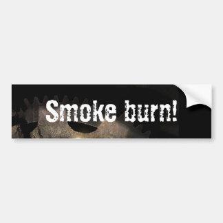 "The Official VOD ""Smoke Burn!"" Bumper Sticker"