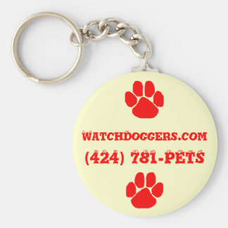 The Official WatchDoggers! Key Ring