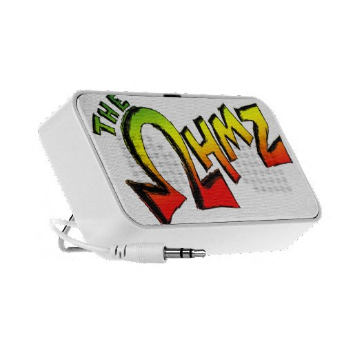 The Ohmz Logo Travelling Speakers
