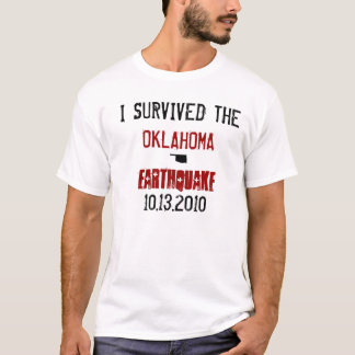 The Oklahoma Earthquake T-Shirt