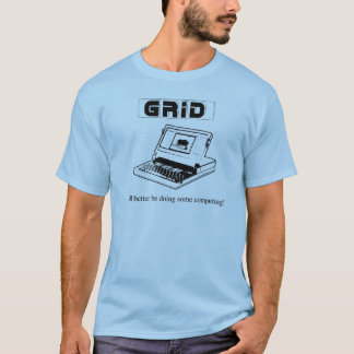 The Ol' GRiD Compass, The Godfather Of Laptops T-Shirt