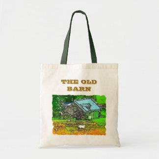 THE OLD BARN BUDGET TOTE BAG