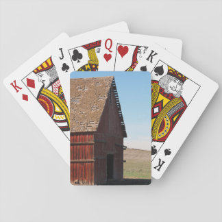 The Old Barn Deck o' Cards
