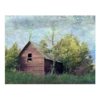The Old Barn Postcard