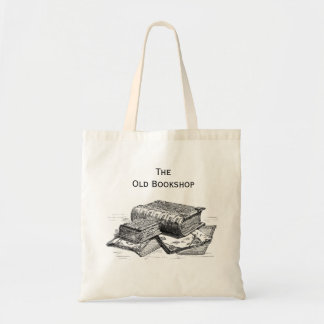 The Old Bookshop Tote Canvas Bags
