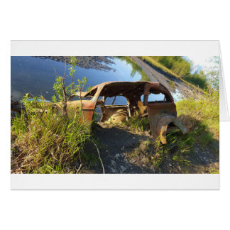 The Old Cars of Eklutna Tailrace Card