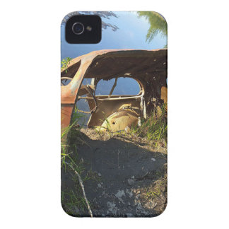 The Old Cars of Eklutna Tailrace iPhone 4 Cases