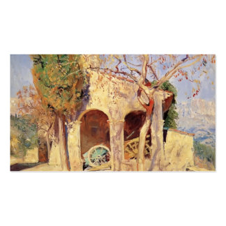 The Old Church at Cagnes by Guy Rose Business Card