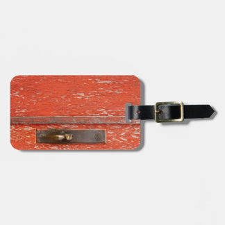 The Old Door Luggage Tag
