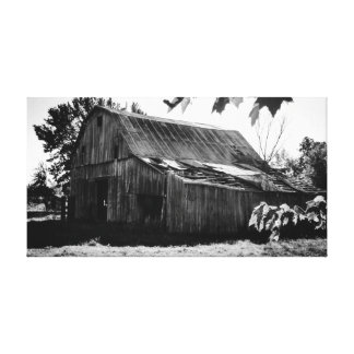 The old farm canvas print