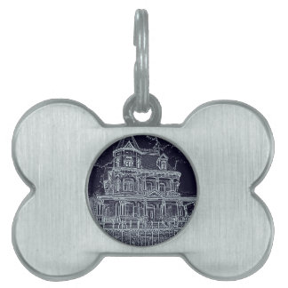 The Old House Pet Name Tag