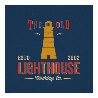 The Old Lighthouse Clothing Co. Poster