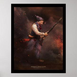 The old man of 37, homage to Henri Julien Poster