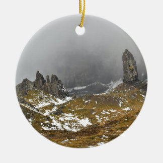 The Old Man of Storr Ceramic Ornament