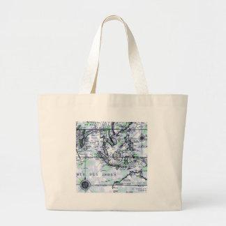 The Old Map Jumbo Tote Bag
