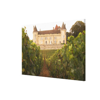The old medieval Chateau de Rully in the Cote Canvas Prints