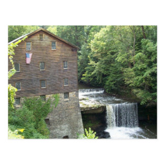 The Old Mill At Lanterman's Falls Postcard