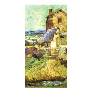 The Old Mill by Vincent van Gogh Customized Photo Card