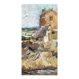 The old mill by Vincent van Gogh Photo Greeting Card
