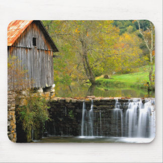 The Old Mill Mouse Pad