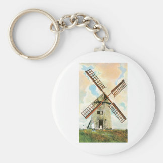 The Old Mill, Nantucket, Mass Key Ring