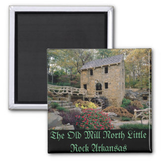 The Old Mill North Little Rock Arkansas Magnet