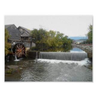 The Old Mill Poster