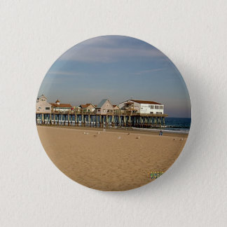 The Old Orchard Beach Pier 6 Cm Round Badge
