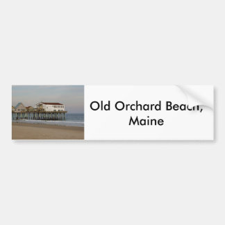 The Old Orchard Beach Pier by Wendy C Allen 2004 Bumper Sticker