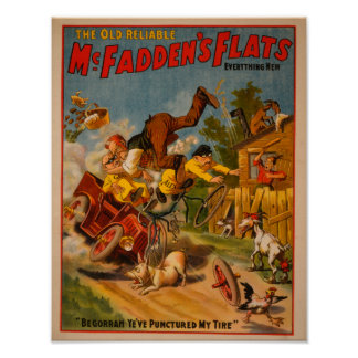 The Old Reliable McFadden's Flats Everything New Poster