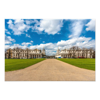 The Old Royal Naval College, Greenwich, England Photo Art