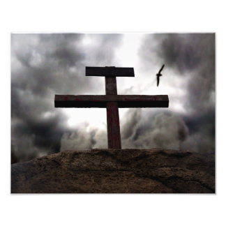 The Old Rugged Cross of Christ Easter Photograph
