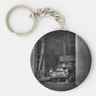 The old truck out back key chains