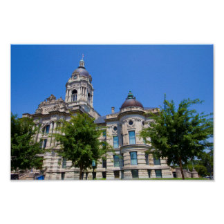 The Old Vanderburgh County Courthouse Poster