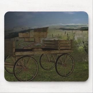 The Old West Farm Wagon Mousepad
