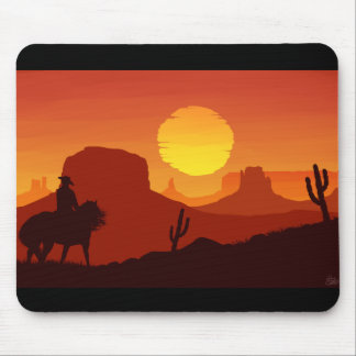 The Old West Mouse Pad