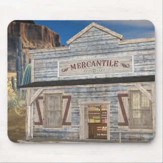 The Old Wild West Country Store Mousepad